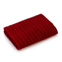 Mainstays Ring Spun Face Cloth Red