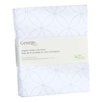 George baby Organic Cotton Crib Sheet