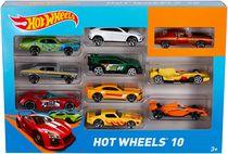 Hot Wheels Ensemble de 10Voitures Assorties
