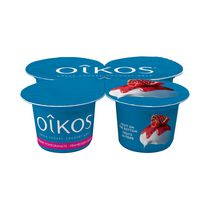 Oikos Rasberry/Pomegranate Greek Yogurt