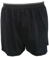 George Yves Martin Men's Knit Boxer Black XXL