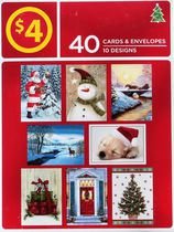 40 Boxed Christmas Cards