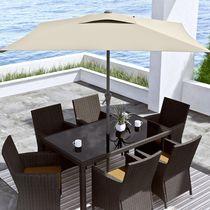 CorLiving 9 Ft Square Patio Umbrella
