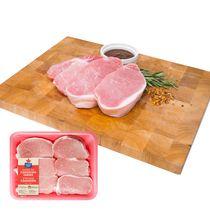 Maple Leaf Fresh Pork Loin Boneless Center and Rib Chops