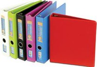 Hilroy Deluxe Binder 1.5 in - Assorted Colours