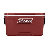 Coleman 70-Quart Hard Ice Chest Cooler, Mahogany