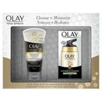 Olay Total Effects Refreshing Citrus Scrub Cleanser & All Day Moisturizer Gift Set