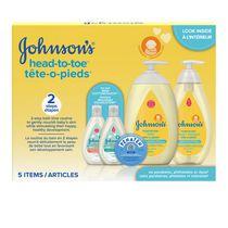Johnson's Baby Head-to-Toe Gift Set