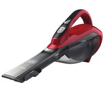 BLACK+DECKER HLVA320J26 dustbuster® Advanced Clean Cordless Hand Vacuum, Chili Red
