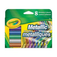 Metallic Markers - 8 ct