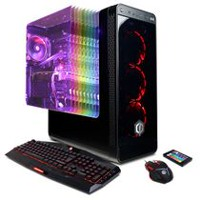 CYBERPOWERPC BattleBox Ultimate Liquid Cool SLC10040 with Intel i7-8700K 3.7 GHz Processor, English