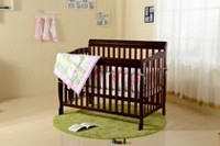 Concord Baby Carson Java Expresso 4-in-1 Baby Crib