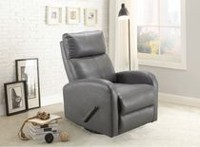Concord Baby Charleston Light Grey Swivel Glider Recliner