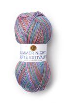 Lion Brand Yarn 511-310 Summer Nights Bonus Bundle Wildflowers Metallic Yarn