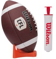 Wilson CFL Pump & Tee Football