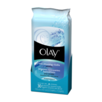 Olay Daily Facials Wet Cleansing Cloths Sensitive – 30 ct