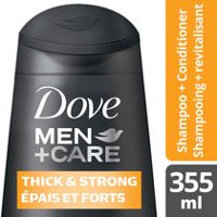 Dove Men+Care® Thickening Caffeine and Calcium Fortifying Shampoo