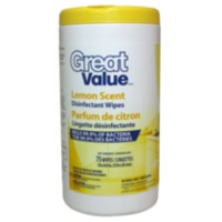 Great Value Lemon Scent Disinfectant Wipes