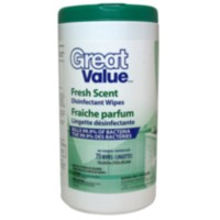 Great Value Fresh Scent Disinfectant Wipes