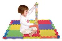 Edushape Play Mat Interlocking Foam Floor Tiles