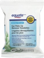 Equate Eye Make-Up Remover Towelettes 30-ct