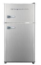 Frigidaire, 3.2 Cu. Ft Retro Compact Refrigerator with Chrome Trim and Handle