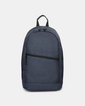 Bond Street - Silver Bullet Backpack with diagonal zipper