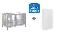 Concord Baby Devon 4 in 1 Convertible Crib + Bonus Twinkle Twinkle Crib Mattress