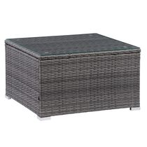 CorLiving Parksville Resin Wicker Patio Coffee Table