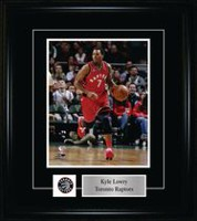 Kyle Lowry Toronto Raptors Red Action Frame