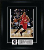 DeMar DeRozan Toronto Raptors Red Action Frame