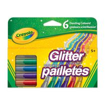 Giltter Markers - 6ct