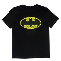 Batman Boys' Short Sleeve T-shirt XS
