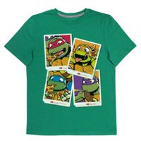 TMNT Boys' Short Sleeve T-shirt L