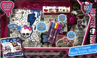 Ensemble journal d'activité de Monster High