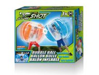 X-Shot Orange Bubble Ball