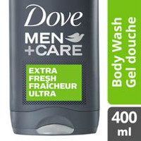 Gel douche corps et visage Fraîcheur ultra de Dove Men +Care 400 ml
