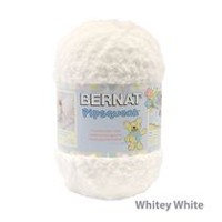 Bernat Pipsqueak Big Ball Yarn Whitey White
