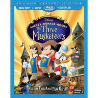Mickey, Donald, Goofy: The Three Musketeers (10th Anniversary Edition) (Blu-ray + DVD + Digital HD)