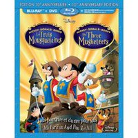 Mickey, Donald, Goofy: The Three Musketeers (10th Anniversary Edition) (Blu-ray + DVD + Digital HD) (Bilingual)