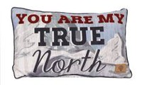 Canadiana Decorative Cushion- True North Photo