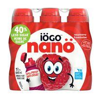 iÖGO nanö 1% Raspberry Drinkable Yogurt