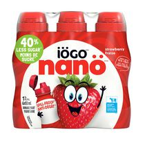 IÖGO nanö 1% Strawberry Drinkable Yogurt
