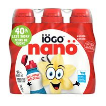 iÖGO nanö 1% Vanilla Drinkable Yogurt