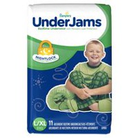Pampers UnderJams Bedtime Underwear Boys, Jumbo Pack 8