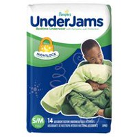 Pampers UnderJams Bedtime Underwear Boys, Jumbo Pack 7