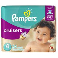 Pampers Cruisers Diapers, Jumbo Pack Size 4