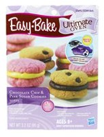 Easy-Bake Ultimate Oven Chocolate Chip and Pink Sugar Cookies Refill Pack