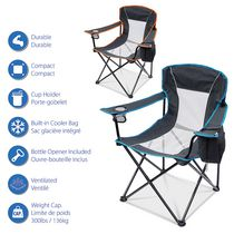 Ozark Trail Oversized Mesh Chair With Cooler