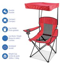 Ozark Trail Oversized Mesh Chair With Canopy